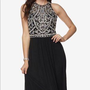 Black Blingy Prom Dress. NWT!